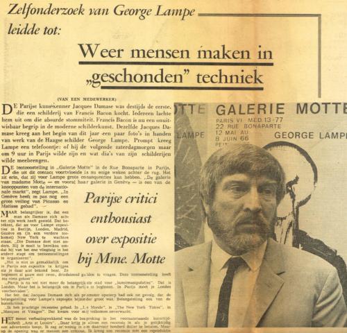 Haagse Courant, 29 Juli 1966
