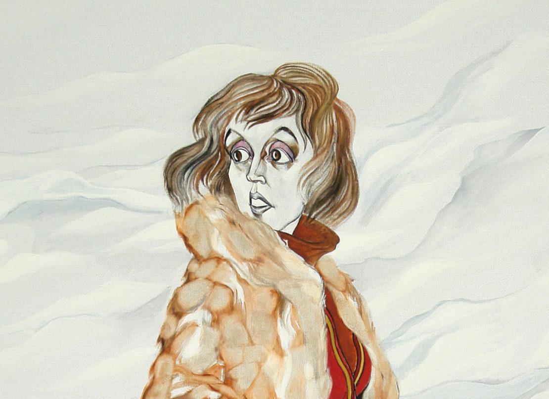 George Lampe - Portret van Bibeb (Portrait of Bibeb) - GL12