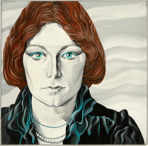 George Lampe - Portret van Tilly Wils - GL121