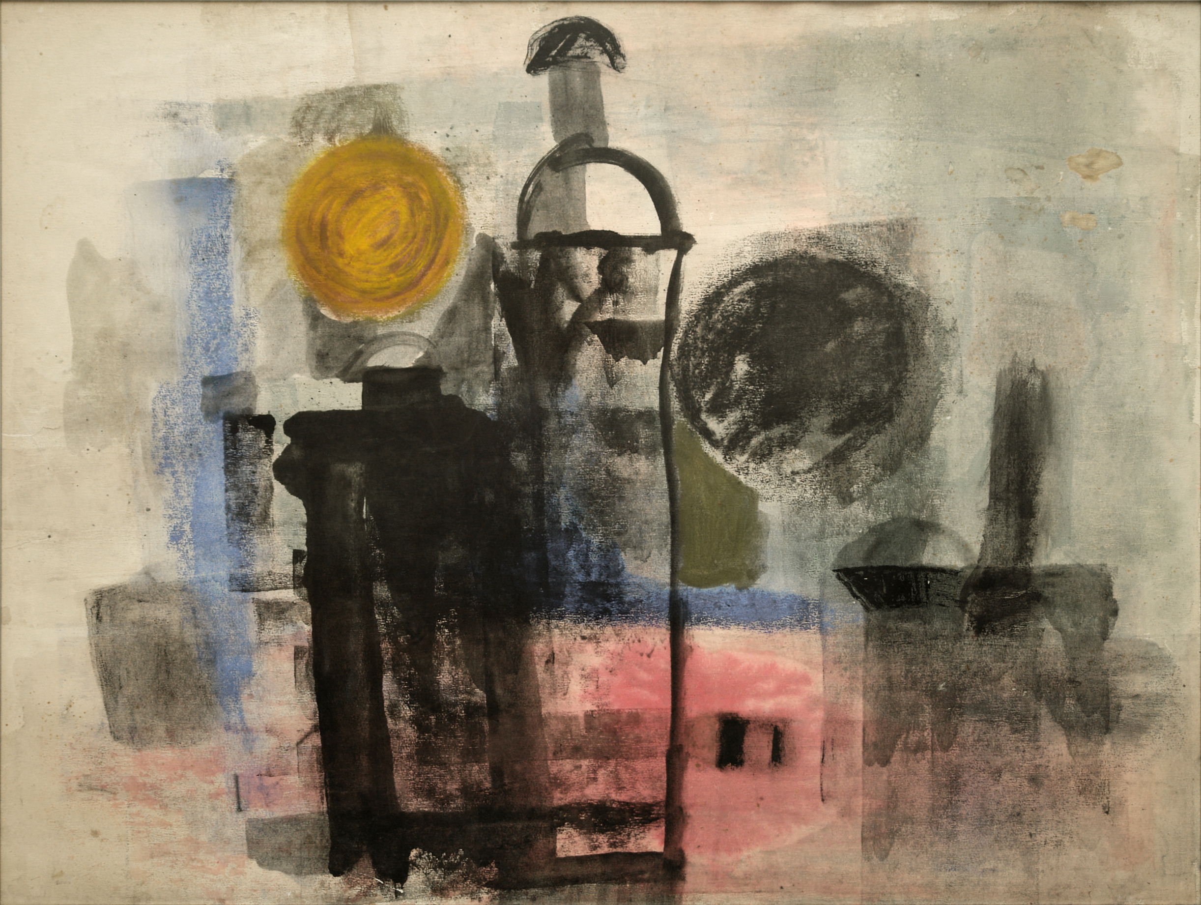 George Lampe - Untitled - GL150