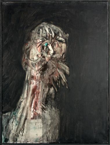 George Lampe - Trois Portraits de la Schizophrénie (Hommes) No. 1 (Three Portraits of Schizophrenia (Males) #1)  - GL186