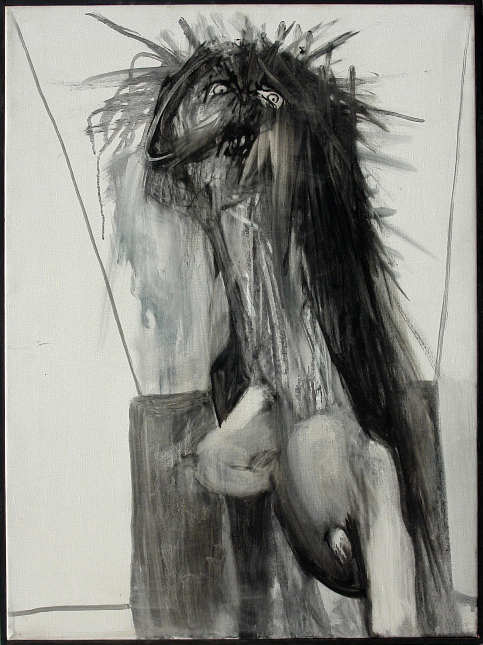 "George Lampe - Serie ""Portraits de la Schizophrénie"" (Serie ""Portraits of Schizophrenia"") - GL192"