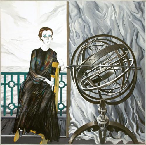 George Lampe - Portret van Roebijem van Haselen - GL4