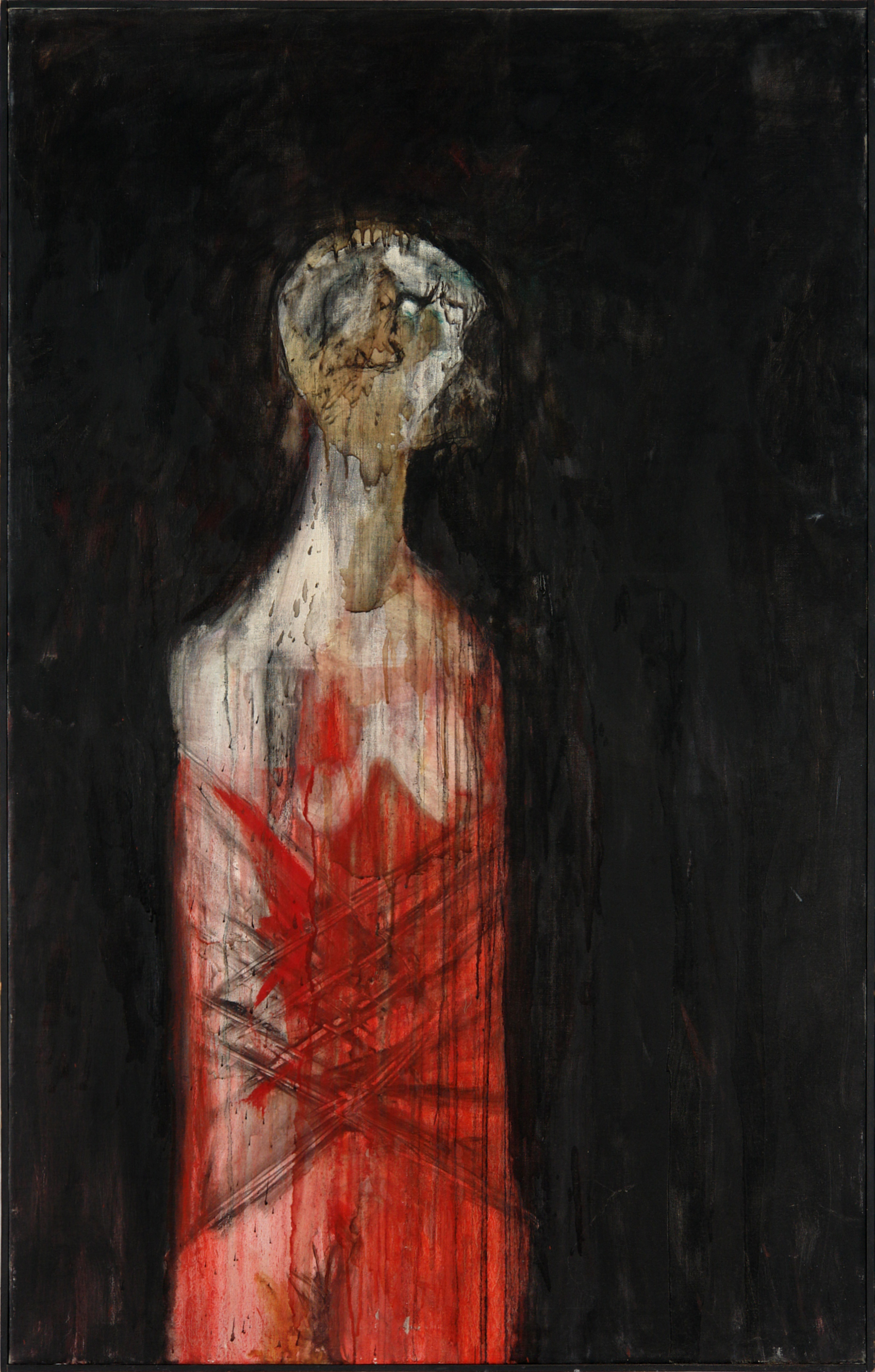 George Lampe - Aveugle et Prise Dans un Camisole de Force (Blind and Taken in a Straight Jacket) - GL48