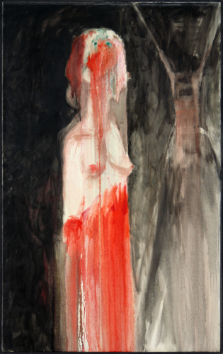 George Lampe - Ensanglantée Dans un Corridor Sans Fin (Bleeding in an Endless Corridor) - GL51