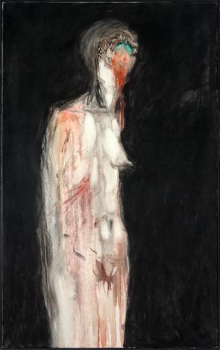 George Lampe - Nu au Sourire Détérioré (Naked Deteriorated Smile) - GL59