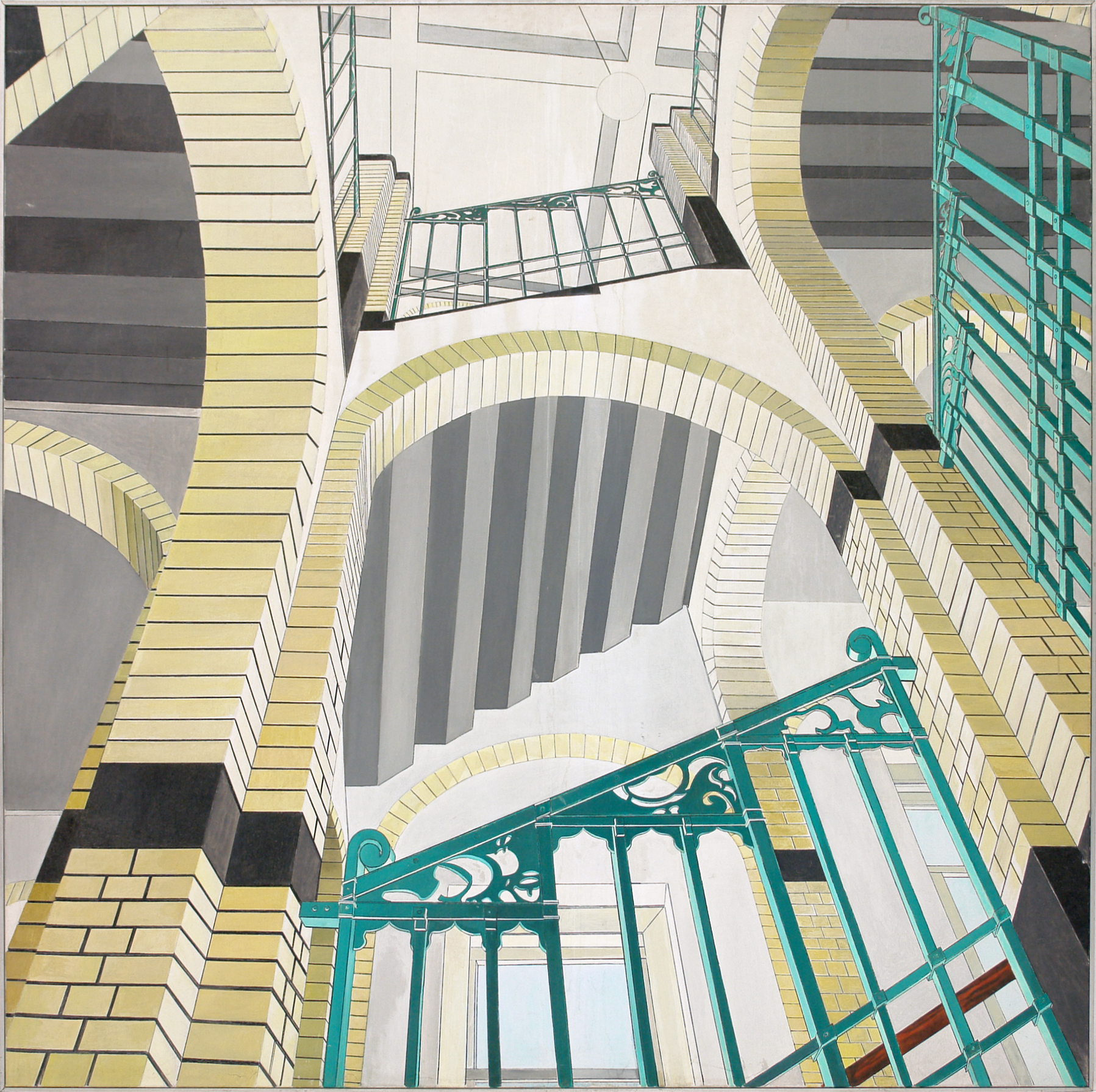 George Lampe - Trappenhuis (staircase) - GL7