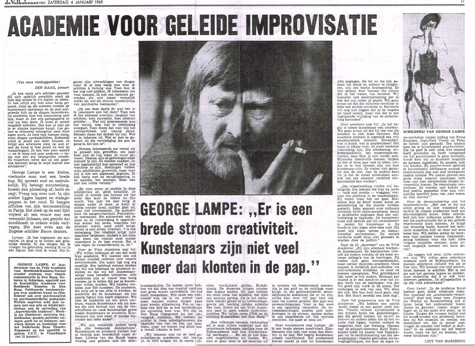 Volkskrant, 4 Januari 1969