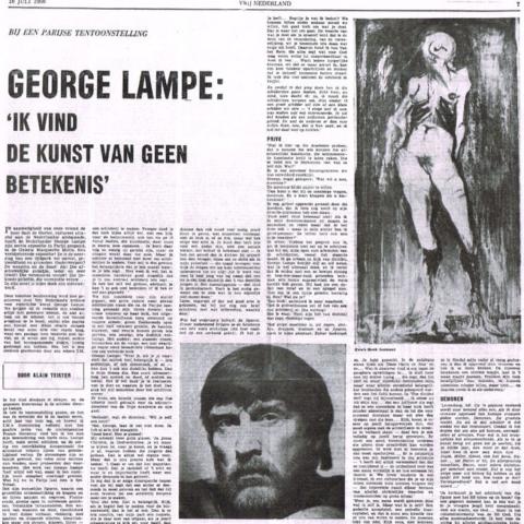Vrij Nederland, 16 Juli 1966