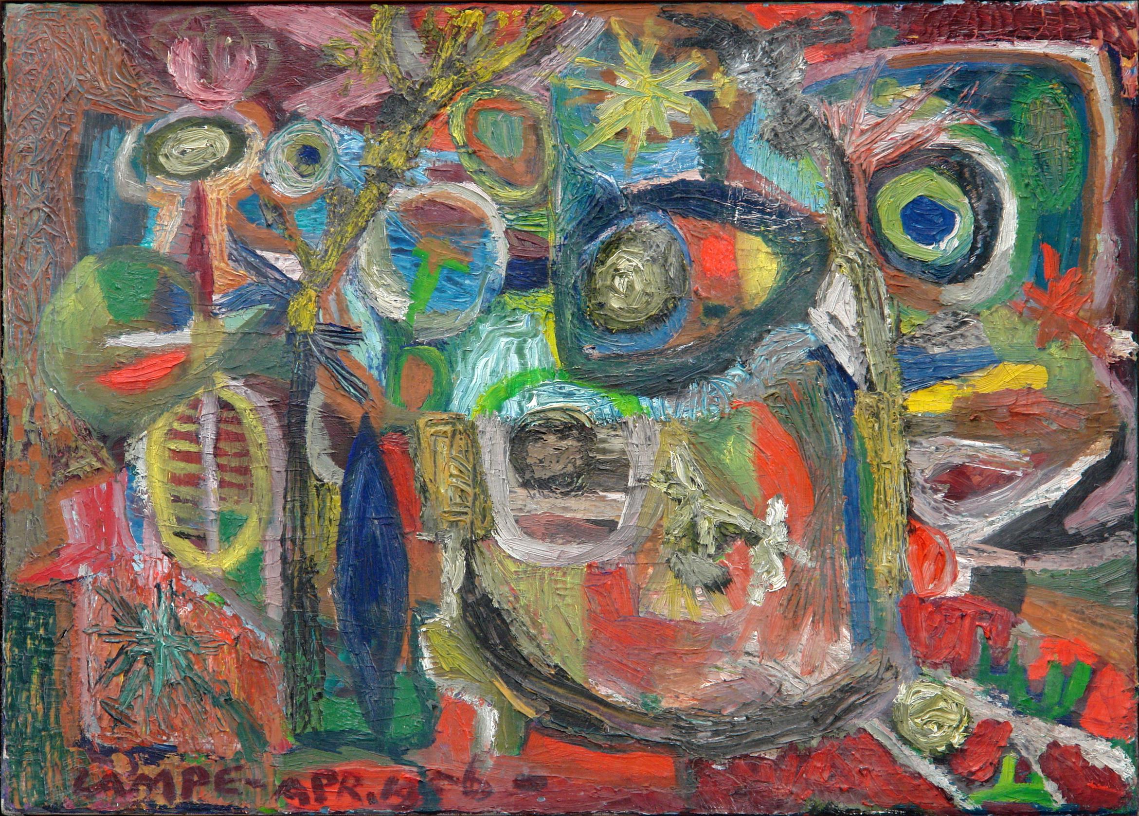 George Lampe - Diepzeeachtig Schilderij (Deapsea-ish Painting) - GL203