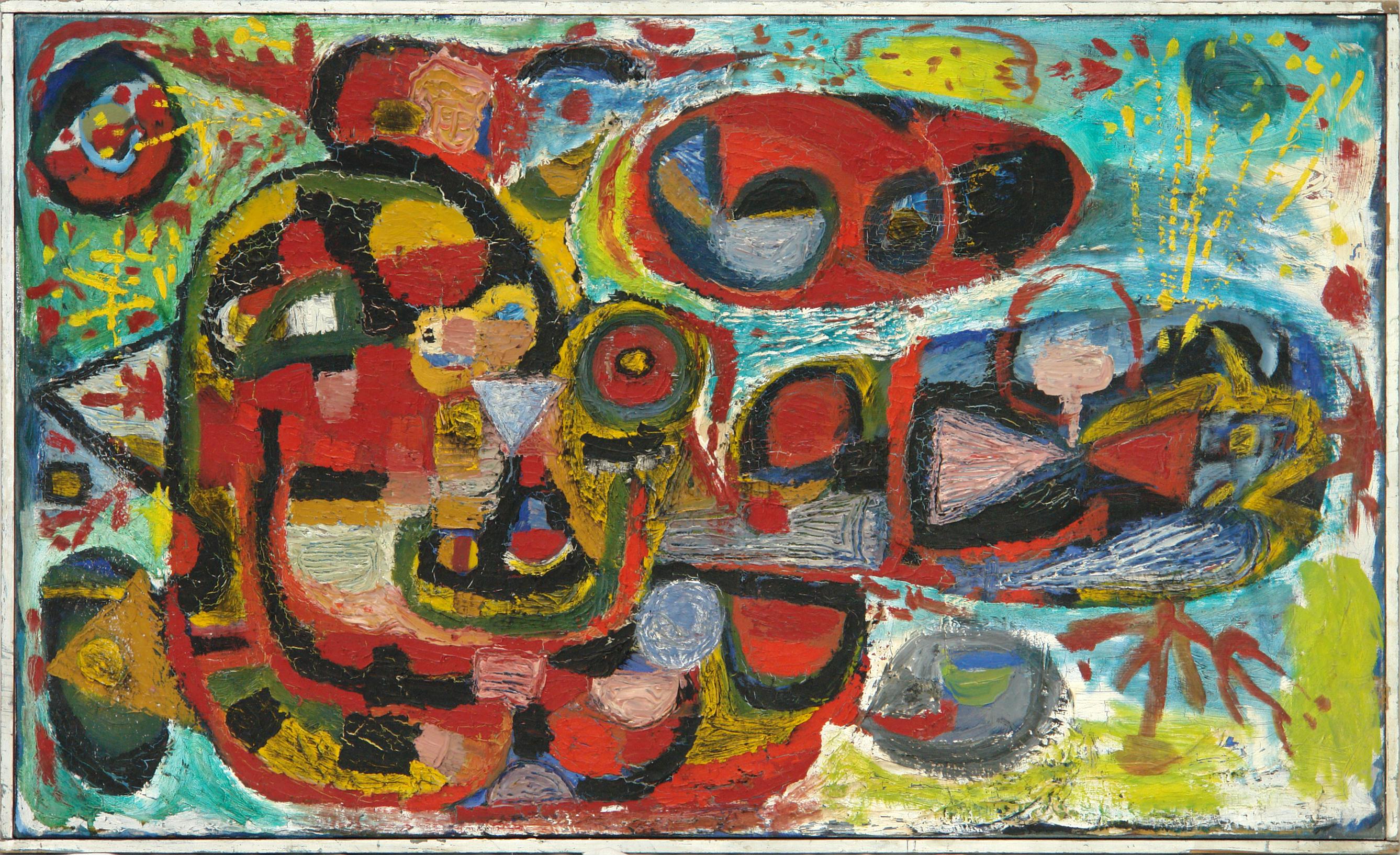 George Lampe - Diepzeeachtig Schilderij (Deapsea-ish Painting) - GL74